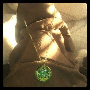 Other - 4/$24 Slytherin Harry Potter Pendant Necklace